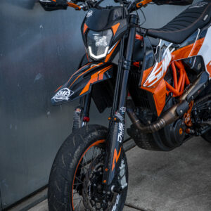 KTM LED headlight.