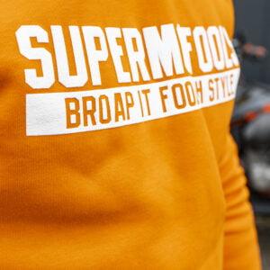 Supermofools hoodie (orange)