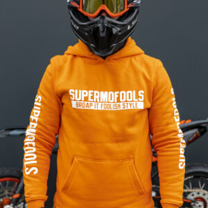 Supermofools hoodie (orange)